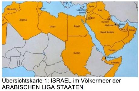 Karte Naher Osten Israel.Die Geschichte Israels